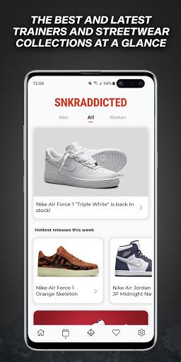 SNKRADDICTED – Sneaker App 1.2.3 screenshots 1