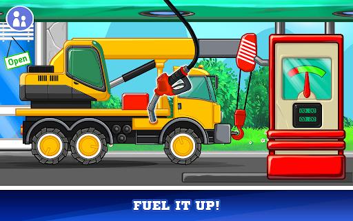 Kids Cars Games! Build a car and truck wash!  screenshots 4