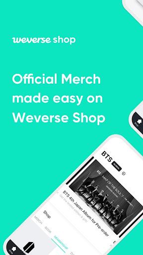 Foto do Weverse Shop