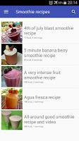 Smoothie recipes free app with photo offline.