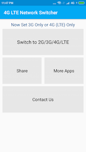 4G LTE Switch 3.4 Mod APK (Unlimited) 2