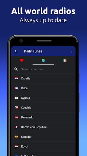 Daily Tunes - World Internet Radios & Live Streams Apkfinish screenshots 3