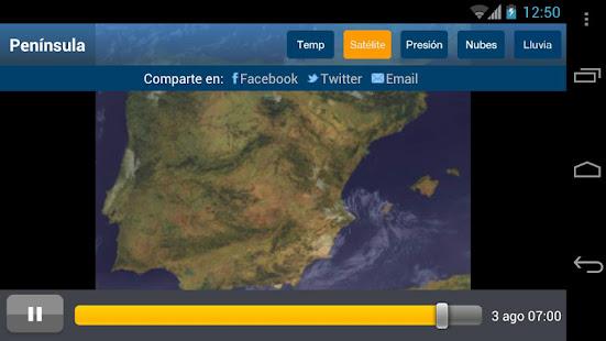 Tiempo y Temperatura 1.2.4 Screenshots 4