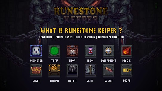 Runestone Keeper 1.3.5 MOD APK [UNLOCKED HEROES/ MONEY] 1