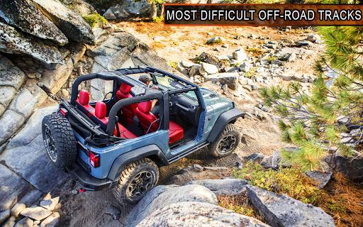 Offroad Jeep Driving Simulator: 4x4 Offroad Racing  screenshots 4