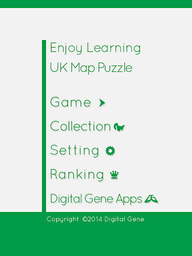 Enjoy Learning UK Map Puzzle screenshots 10