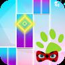 Piano Ladybug Noir 4 Tiles game apk icon