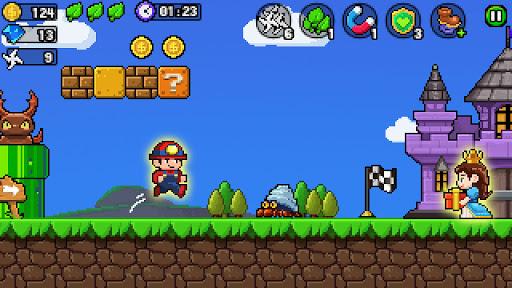 Pixel World - Super Run  screenshots 5