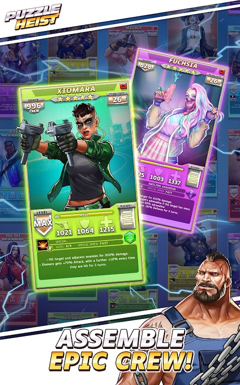 Puzzle Heist: Epic Action RPG poster 2