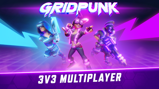 Gridpunk - 3v3 PvP Battle Arena Apkfinish screenshots 7