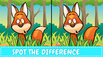 Can You Spot It: Find the Difference, Brain Teaser