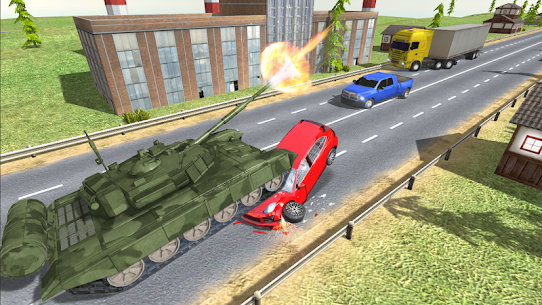 Tank Traffic Racer v 1.4 [Много денег] 2