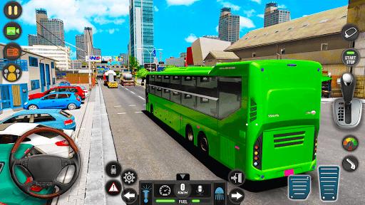Public Transport Bus Coach: Taxi Simulator Games apktram screenshots 11