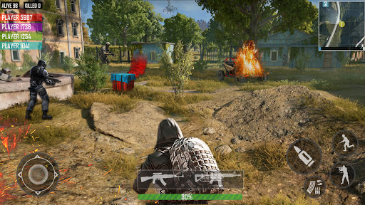 fps shooting games : commando offline gun games android2mod screenshots 2