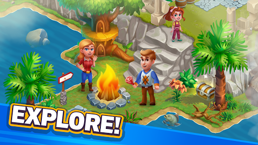 Golden Farm : Idle Farming & Adventure Game 1.48.11 screenshots 2