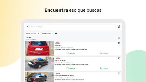 Milanuncios: Segunda mano, motor, pisos y empleo apktram screenshots 15