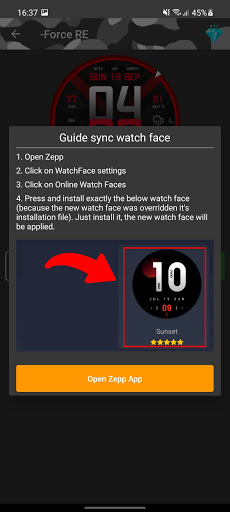 Amazfit T-Rex/T-Rex Pro - Watch Face android2mod screenshots 3
