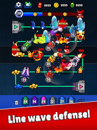 Merge Guns!: Line Defense  screenshots 6