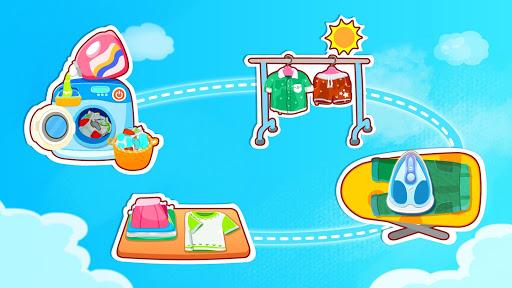 Baby Panda Happy Clean android2mod screenshots 9