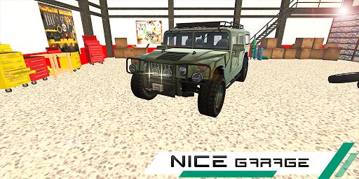 hummer drift car simulator screenshot 1