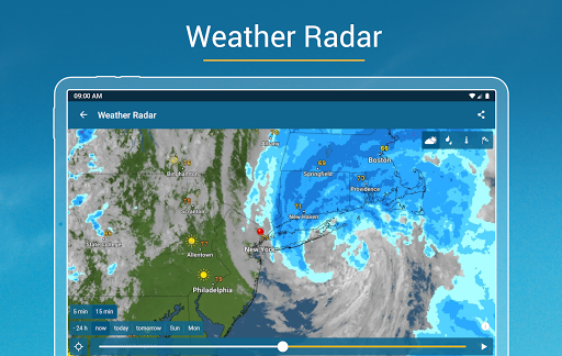 Weather & Radar - Storm radar apktram screenshots 8