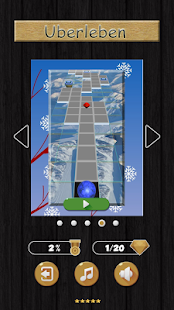 Rolling Ball in Sky - Seasons (Uberleben) Screenshot