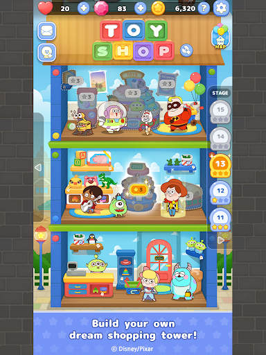 LINE: Pixar Tower android2mod screenshots 14