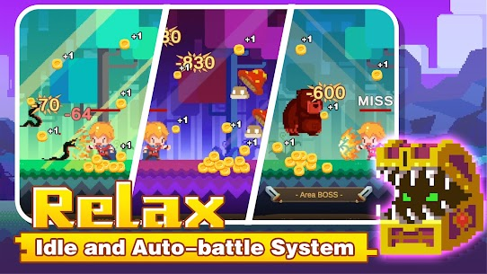 Tiny Pixel Knight – Idle RPG Adventure Tales Mod Apk 1.0.5 (Mod Gold Coins) 5