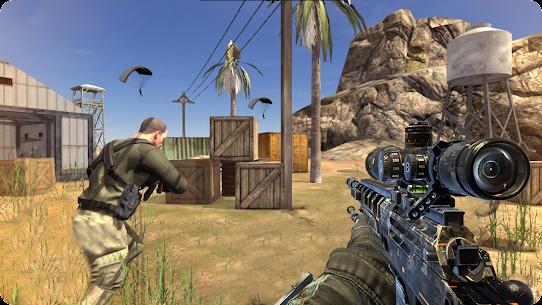 Real Commando Fps Secret Mission Shooting Mod Apk (God Mode) 1