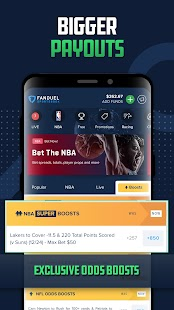 FanDuel Sportsbook and Casino Screenshot