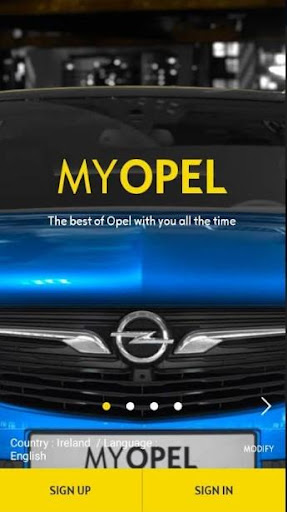 myOpel - the official app for all Opel drivers 1.29.2 Screenshots 1