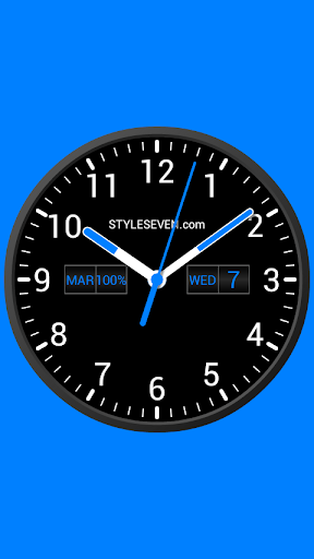 analog clock widget plus-7 screenshot 3
