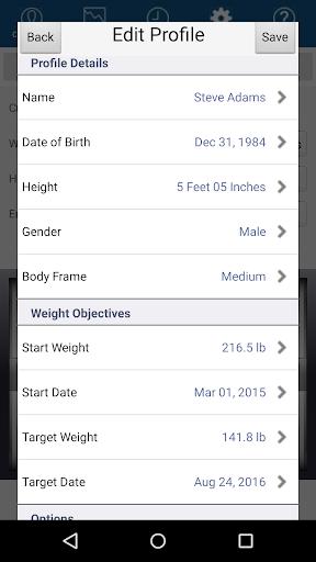 Monitor Your Weight  Screenshots 5
