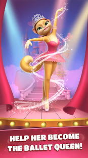 Talking Cat Emma - My Ballerina 1.3.9 Screenshots 2