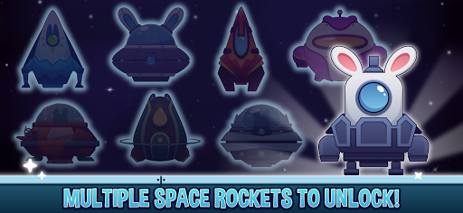 Télécharger Gratuit Planet Rabbit - Space Rocket Rescue Mission apk mod screenshots 2
