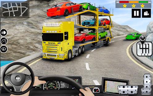 Car Transporter Truck Simulator-Carrier Truck Game 1.7.3 Screenshots 1