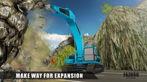 Heavy Excavator Rock Mining Stone Cutter Simulator 4.5 screenshots 7
