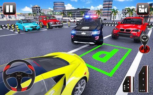Police Parking Adventure Car Games 2021 3D 1.3 Screenshots 5
