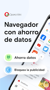 Navegador Opera Mini Screenshot