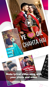 Lyrical Video Status Maker 3.6 (MOD + APK) Download 1