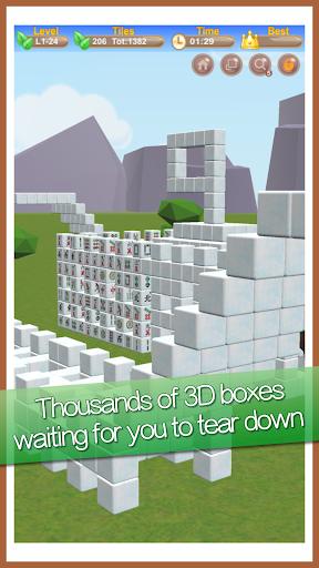 Stacker Mahjong 3D  II - Fantasy World apktreat screenshots 2