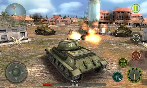 Tank Strike 3D - War Machines 2.0 screenshots 1