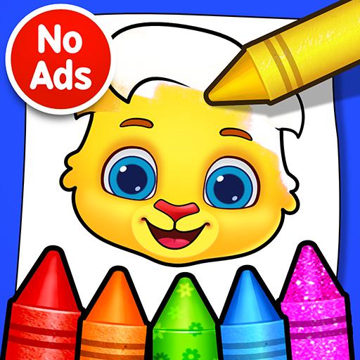 Jogos de Colorir: Coloração, Pintura e Brilho