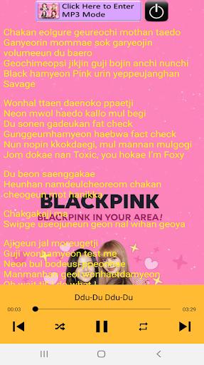 Blackpink Song apktram screenshots 3