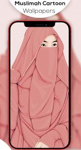 Hijab Muslimah Cartoon Wallpapers HD 1.1.10 screenshots 3