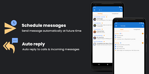 Do It Later - Schedule SMS, Auto Reply Text, Whats apktram screenshots 7