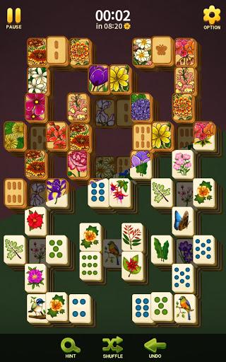 Mahjong Blossom Solitaire apkdebit screenshots 4