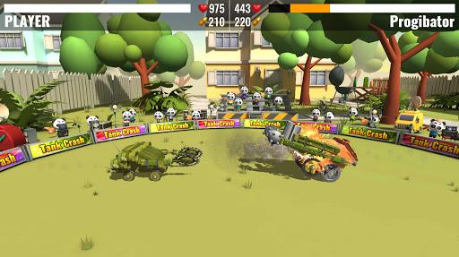 Tank Crash : combats de robots APK MOD (Astuce) screenshots 4