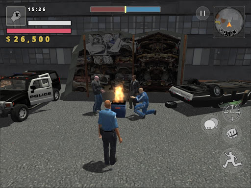 Police Cop Simulator. Gang War  Screenshots 20