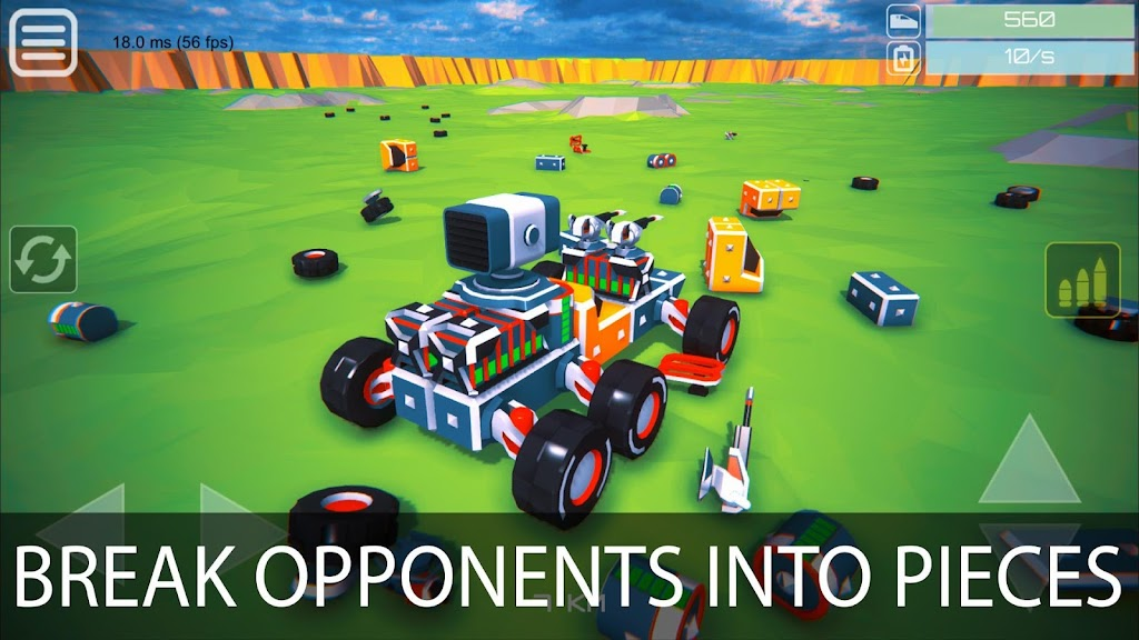 Block Tech : Tank Sandbox Craft Simulator Online  poster 2